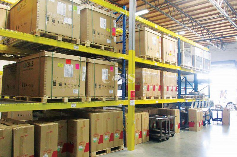 Solar Panel Facility Carton Flow System