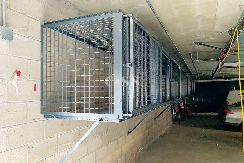 Tenant Steel Storage Locker Install for Luxury Apartment