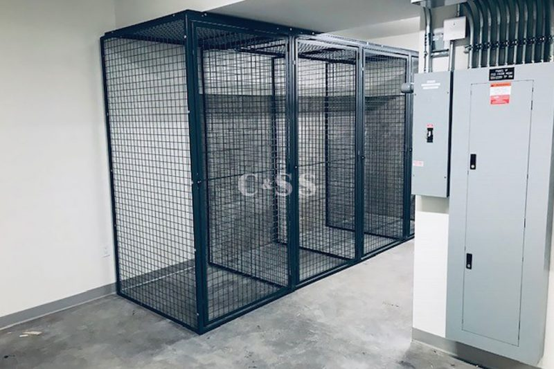 Apartment Install of Standard Tenant Storage Lockers