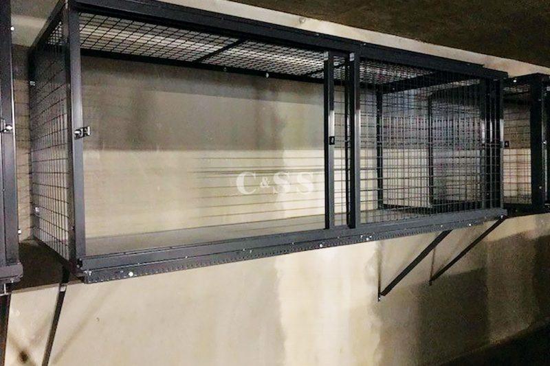Steel Lockers Provide on Site Flexibility