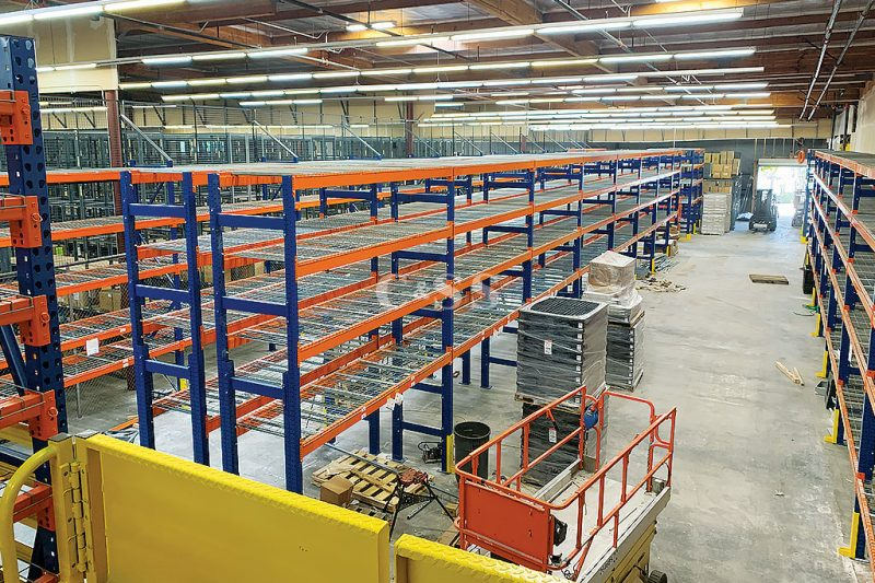 Company Mining Vehicles Used Pallet Racking System