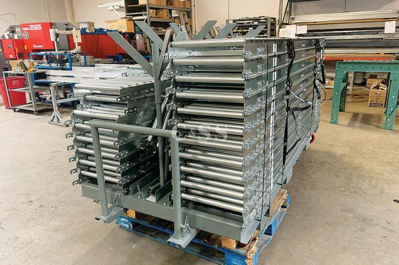 Custom Conveyor Roller System for Armed Forces