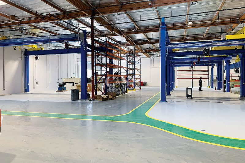 Mining Electric Vehicle Warehouse Uses Pallet Racking System