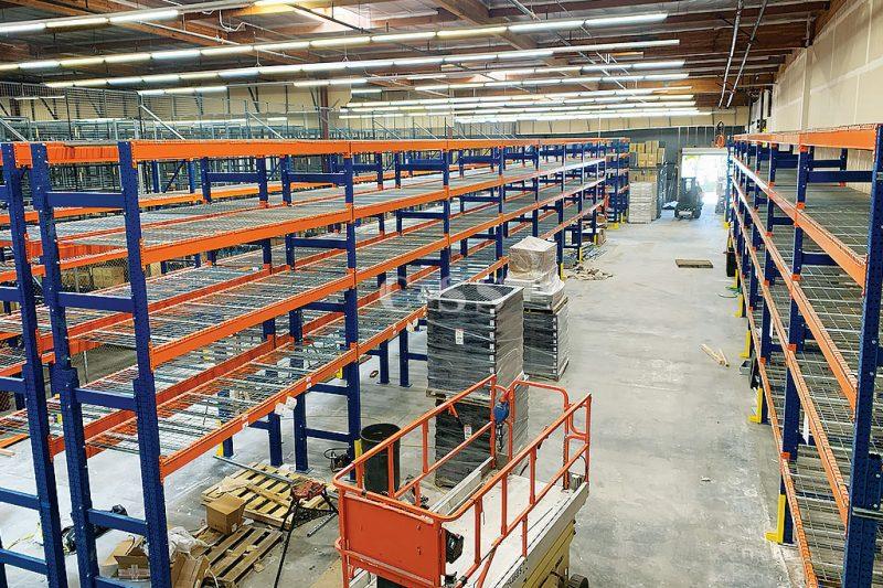 Pallet Racking System Ensures Forklift Safety
