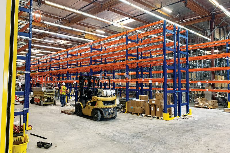 Pallet Racking System for Mining Vehicle