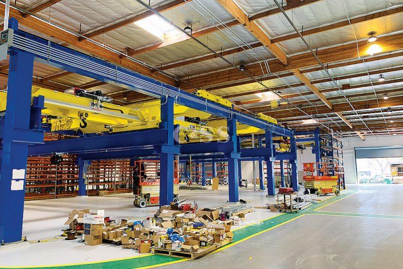 Pallet Racking System Underground Trucks