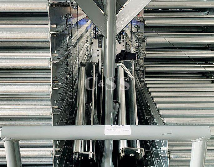 Stainless Steel Conveyor Rollers to Feed Navy Troops