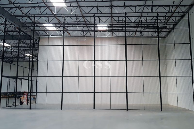 Steel Mesh Storage Cages Assists with Forklift Safety