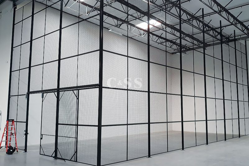 Steel Mesh Storage Cages Helps with Fire Safety