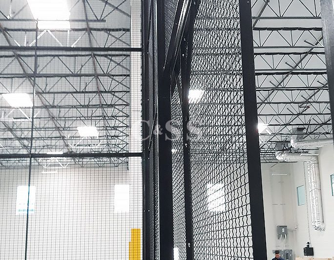 Technology Firm Has Custom Designed Metal Storage Cage