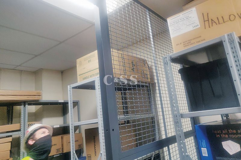 Wire Partitions Security Cages for Military