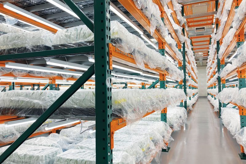 Agricultural Business Uses Pallet Racking Systems