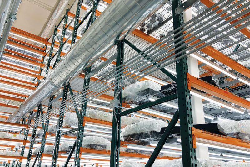 Heavy Duty Warehouse Shelving for Biotechnology Company