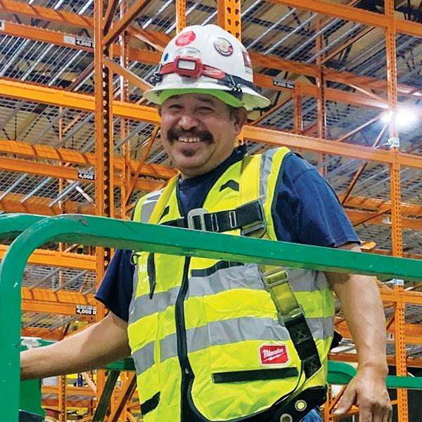 Pallet Storage Rack Installer Senobio Saldivar